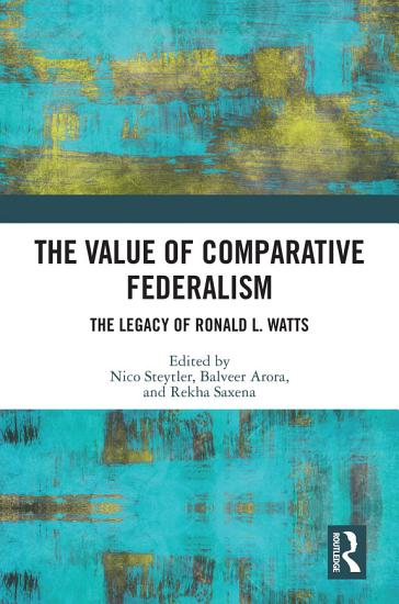 The Value of Comparative Federalism PDF