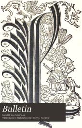 Bulletin de la Societe des sciences historiques et naturelles de l'Yonne: Volume49