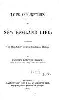 Tales and Sketches of New England Life PDF