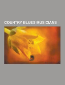 Country Blues Musicians PDF
