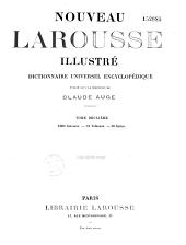 Nouveau Larousse illustré: dictionnaire universel encyclopédique, avec un volume de supplément et complément, Volume6