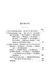Taschenbuch für Jäger und Naturfreunde: Herausgegeben von Otto von Corvin-Wiersbitzki Mit einem Stahlstich