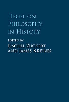 Hegel on Philosophy in History