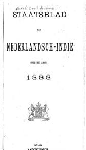 Staatsblad van Nederlandsch Indië: Volume 1888