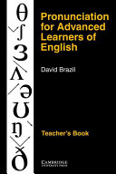Pronunciation for Advanced Learners of English Teacher s Book Book