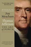 Thomas Jefferson  The Art of Power PDF