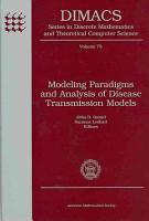 Modeling Paradigms and Analysis of Disease Transmission Models PDF