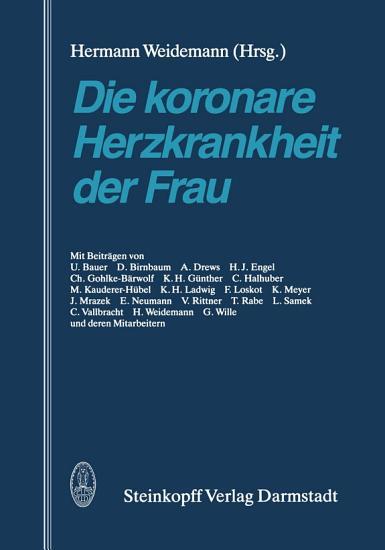 Die koronare Herzkrankheit der Frau PDF