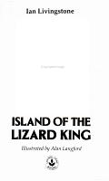 Island of the Lizard King PDF