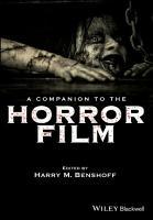 A Companion to the Horror Film PDF