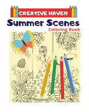 Creative Haven Summer Scenes Coloring Book
