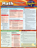 Math Common Core Algebra 1 9th Grade