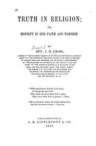 Truth in Religion PDF