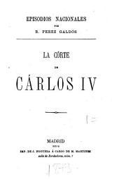 La córte de Carlos IV.