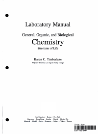 General  Organic  and Biological Chemistry Study Guide and Selected Solutions PDF