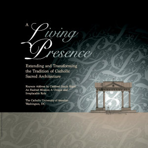 A Living Presence  Proceedings of the Symposium