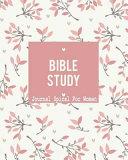 Bible Study Journal Spiral For Women Book PDF