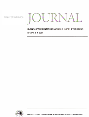 Journal of the Center for Families  Children  and the Courts PDF