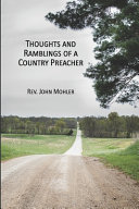 Thoughts and Ramblings of a Country Preacher