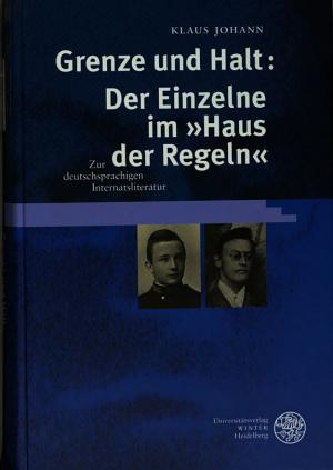 Grenze und Halt PDF