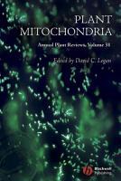 Annual Plant Reviews  Plant Mitochondria PDF
