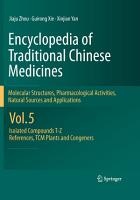 Encyclopedia of Traditional Chinese Medicines   Molecular Structures  Pharmacological Activities  Natural Sources and Applications PDF