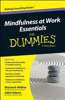 Mindfulness At Work Essentials For Dummies PDF