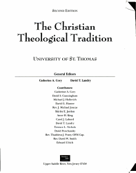 The Christian Theological Tradition PDF