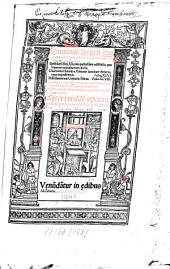 Omnium Angeli Politiani operum tomus prior, in quo sunt Epistolarum libri ..., Charmides Platonis ..., Cetera eiusdem opera ...