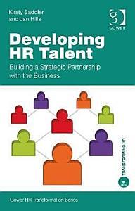 Developing HR Talent PDF