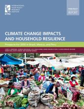 Climate change Impacts and Household Resilience: Prospects for 2050 in Brazil, Mexico, and Peru
