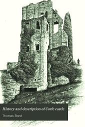 History and description of Corfe castle