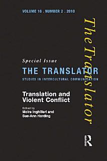 Translation and Violent Conflict Book