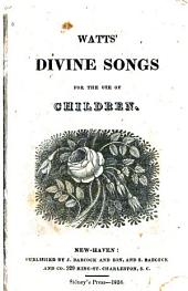 Divine Songs for the Use of Children