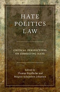 Hate  Politics  Law PDF