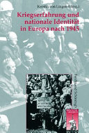 Kriegserfahrung und nationale Identit  t in Europa nach 1945 PDF