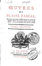 Œuvres de Blaise Pascal. Tome premier (-cinquieme): 1