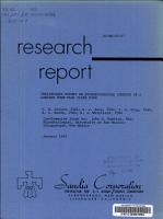 Preliminary Report on Microbiological Studies in a Laminar Down flow Clean Room PDF