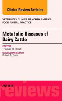 Metabolic Diseases of Dairy Cattle PDF