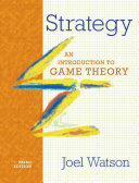 Strategy  An Introduction to Game Theory  Third Edition  PDF