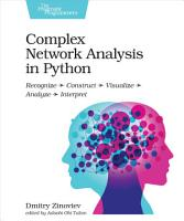 Complex Network Analysis in Python PDF