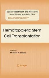 Hematopoietic Stem Cell Transplantation