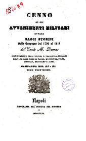 Cenno su gli avvenimenti militari, ovvero saggi storici sulle campagne dal 1799 al 1814 del conte M. Dumas: Campagna del 1813 e 1814. 30