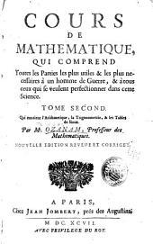 Cours de mathematique: L'arithmetique, la trigonometrie, & les tables de sinus