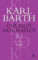 Church Dogmatics PDF