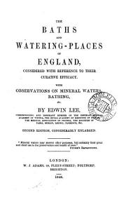 The baths and watering-places of England