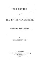 The Method of the Divine Government: Physical and Moral