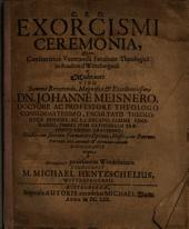 Exorcismi Ceremonia