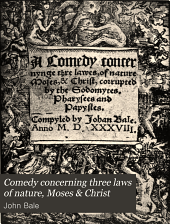 Comedy Concerning Three Laws of Nature, Moses & Christ
