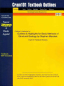 Outlines and Highlights for Basic Methods of Structural Geology by Stephen Marshak  Isbn PDF
